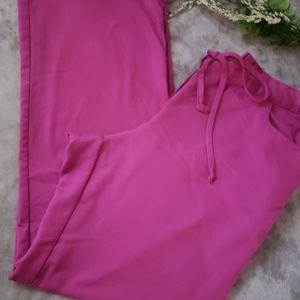 Grey's Anatomy pink scrub pants. Size XL long